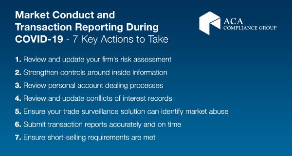Market Abuse and Reporting - infographic